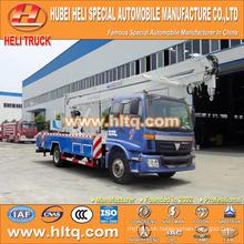 FOTON 4x2 HLQ5163GJKB truck mounted aerial work platform 22M good quality hot sale for sale