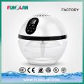 Haushalt LED beleuchtete Globus Wasser Luftreiniger für Haus