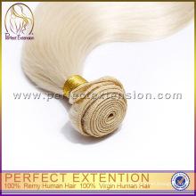 Produkt Promotion Spitzenqualität Blonde Farbe aaa Grade Indische Remy Haar Schuß