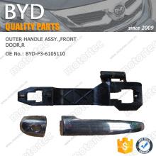 Piezas de automóvil ORIGINALES BYD CONJUNTO DE MANIJA EXTERIOR BYD-F3-6105110