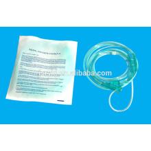 Tubo de oxigênio nasal cirúrgico esterilizado de alta qualidade