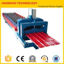 Máquina formadora de rolos de telha metálica, linha de produção