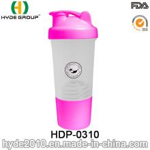 2016 recém PP BPA Free garrafa de plástico de proteína Shaker (HDP-0310)