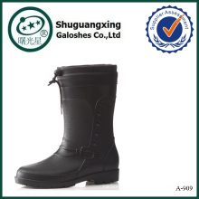 botas de lluvia de los hombres al por mayor botas de lluvia de zapatos de pvc al por mayor