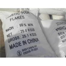 Professionelle Fabrik der ätzenden Soda 99% Flakes / Prill