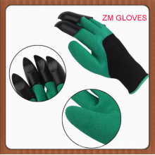 Garden Gloves With Claws For Digging And Planting