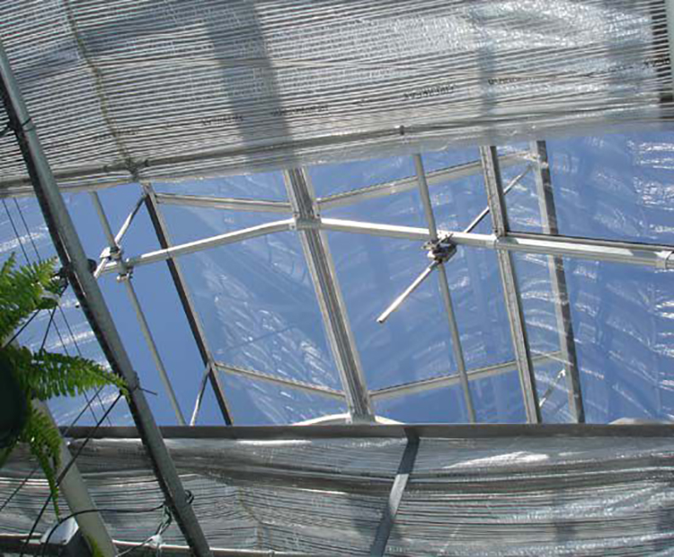 Greenhouse Continuous Ventilation System Pinionn