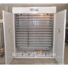 5280 oeufs taux d'éclosion automatique machine d'incubation plus élevé
