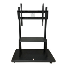 Heavy Duty Galvanized Plate Mobile TV Stand