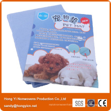 Viscose and Polyester Needle Punched Nonwoven Fabric Pet Mat