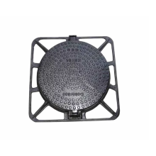 EN124 D400 Couvercle rond de regard en fonte ductile