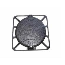 EN124 D400 Tapa de registro redonda de hierro dúctil