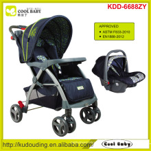 Carrinho de criança novo do bebê com assento de carro 2015 Carrinho de bebê novo 2 a 1