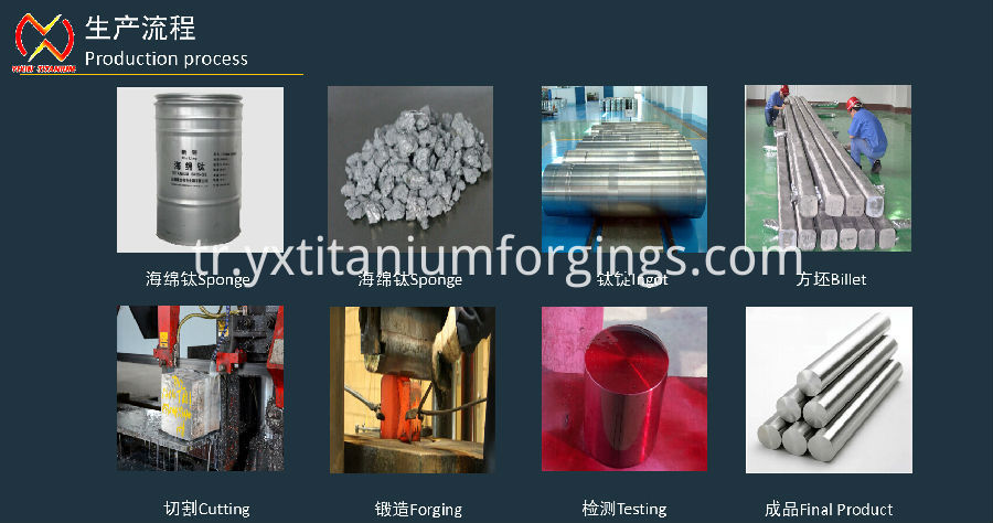 titanium bar processing