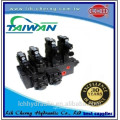 hydraulic system for clamping machine with power unit station system