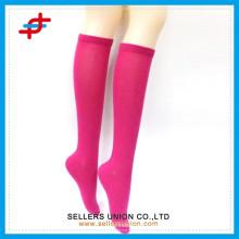 Yong niña de color sólido tubo de almacenamiento / color brillante medias japonés niñas
