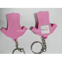 Led porte-clés / porte-clés pvc avec led