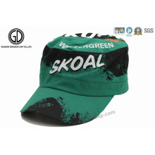 2016 Fashion Military Hat/ Army Cotton Cap with Graffiti Printing