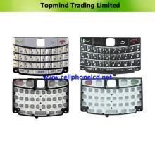 Teclado de piezas de celular para Blackberry Bold 9700
