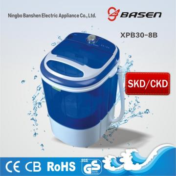 3KG Mini Single Tub CKD Waschmaschine