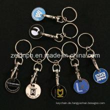 Custom Made Trolley Coin Schlüsselanhänger
