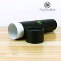 Matte black paper mailing tube/mailing packaging