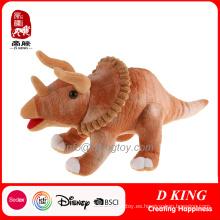 Dinosaurio felpa realista con juguetes rellenos Voicer para niño
