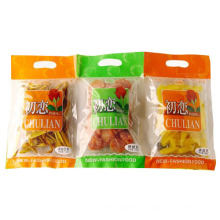 Saco de OPP / saco do alimento do petisco / saco plásticos do alimento com punho