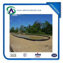 PP Woven Fabric Silt Fence Used for Construction, Garden Fabric Fence
