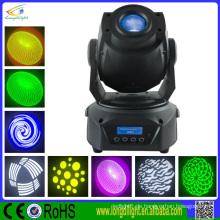 6color 8gobo Prisma 15CH führte Spot Moving Head Beleuchtung