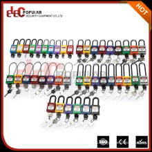 Elecpopular Made In China Estándar ISO Color Bloqueo de seguridad opcional Candados