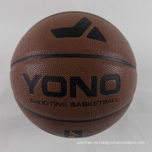2018 YONO Barato pelota de baloncesto personalizada Pu a granel para el entrenamiento