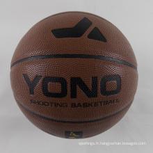 Ballon de basket-ball fait sur commande d'unité centrale de YONO bon marché 2018 en vrac pour la formation