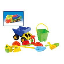 Juguetes de verano de plástico de arena conjunto playa juguetes (h1404212)