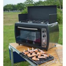 Kochen im Freien BBQ Camping Gaskocher Ofen mit Herd