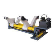 Corrugated paper roller hydraulic shaftless unwinder stand mill roll holder