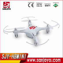 Hot sale toys 2.4G 4CH 6 Axis gyro rc Quadcopter JJRC Headless Mode Drone 1 Key Return RTF JJRC H8 Mini