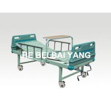 A-89 cama de hospital móvel de função dupla
