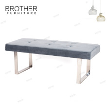 Living room furniture Pedal Bench Ottoman french style bed end bench