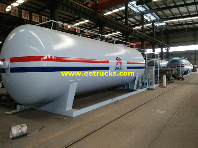 Mobile 50000L LPG Skid Plants