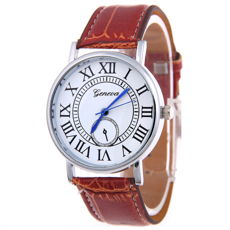 Hot selling New arrival men alloy leather quartz watch