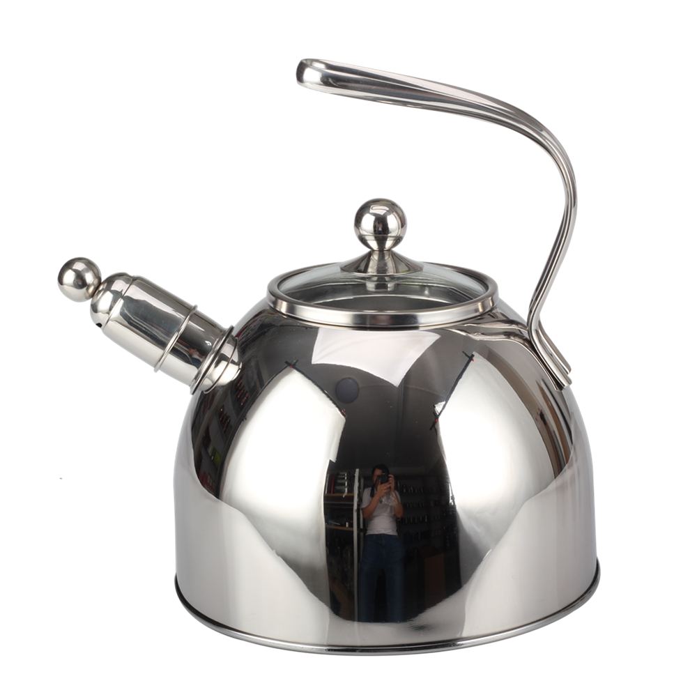 Transparent Lid Of The Whistling Kettle