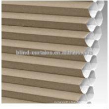 Cord control honeycomb blinds