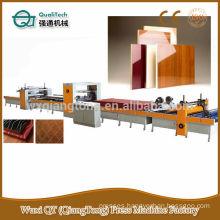 High gloss panel laminating machine/PUR glue coating machine