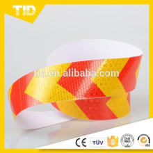 Red and Yellow Arrows Reflective Tape