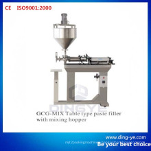 Table Type Paste Filler with Mixing Hopper (Gcg-Mix)