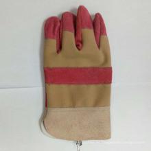 China Industrial profesional de seguridad de mano de trabajo de vaca de cuero dividido guantes