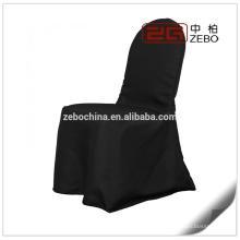Heiße verkaufende glänzende Satin-Gewebe-preiswerte Stuhl-Abdeckungen für faltende Stühle