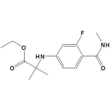 N-[3-Fluoro-4-[ (methylamino) Carbonyl]Phenyl]-2-Methylalanine Ethyl Ester CAS No. 1258638-92-4