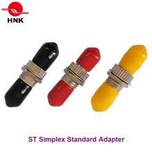 St Simplex Singlemode Multimode Adaptateur Standard en fibre optique en métal